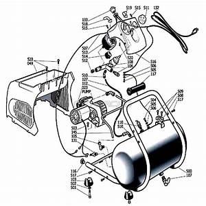 Husky Parts H1503tp Air Compressor