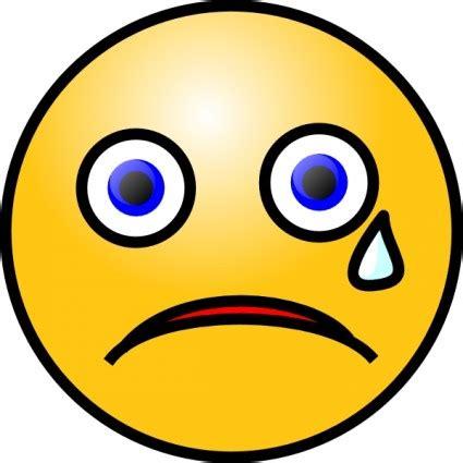 sad face clip art pictures clipartix