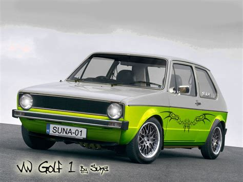 Vw Golf 1 Vt By Simasuna On Deviantart