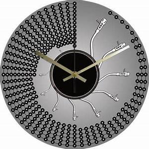 Pendule De Cuisine Moderne : pendule cuisine moderne ~ Carolinahurricanesstore.com Idées de Décoration
