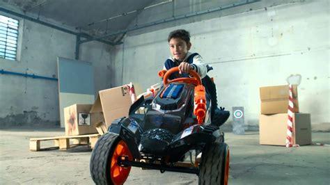 nerf battle racer nerf battle racer pedal car for children with foam arrows