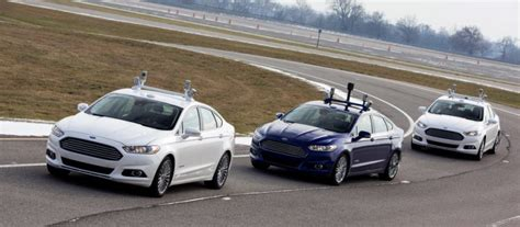 Ford's Self-driving Car Is Coming In 2021 Without Steering