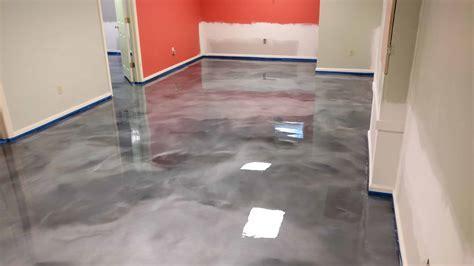 Basement Epoxy Floor Coating in Morris Plains NJ   Epoxy