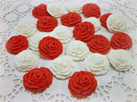 valentine candy flower wedding fondant edible sugar favor