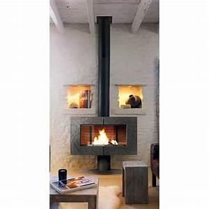Poele A Bois Moderne : cheminee poele moderne ~ Dailycaller-alerts.com Idées de Décoration