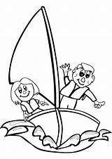 Sails Sailing Coloring Pages Template sketch template