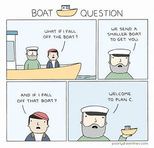Poorly Drawn Lines  U2013 Boat Question