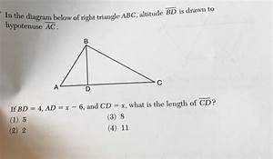 33 What Is The Length Of X In The Diagram Below