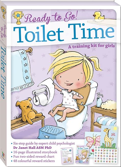 Toilet Joke Book by Ready To Go Toilet Time A Kit For