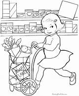 Coloring Pages Grocery Printable Print Raising Raisingourkids Books Colouring Printing Help Summer Kid Template Comments sketch template