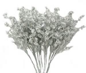 bulk baby s breath 12 baby 39 s breath silver gypsophila silk wedding flowers