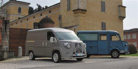 Citroen Type H 70th Anniversary Van Brings Back 40s