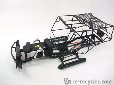 Custom Axial Scx10 Welded Steel Tube Chassis Tuber Crawler