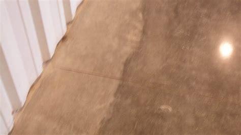 Choosing edge finishes for polished concrete floors based