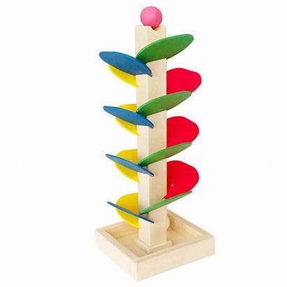 Ball Wooden Toy Toys Spiral Tower Diy