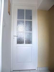 portes interieures bois besnier a chateaubriant With porte interieur petit carreaux
