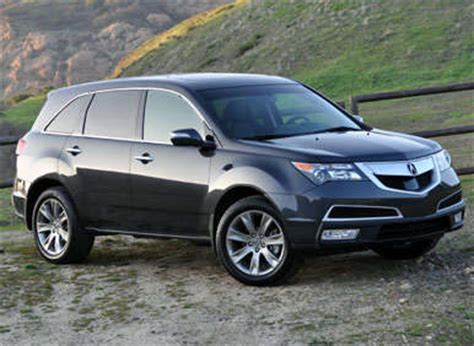acura mdx road test  review autobytelcom