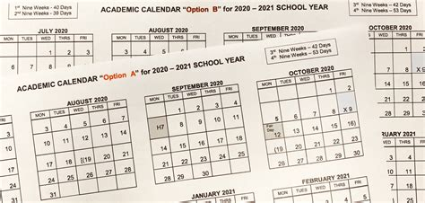student academic calendar options richardson isd newsdesk