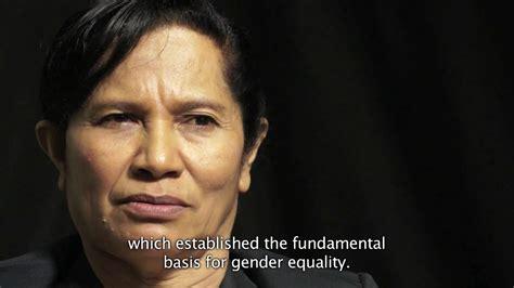 Timor Leste Women In Parliament Youtube