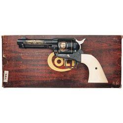 colt wayne commemorative single army revolver with factory box