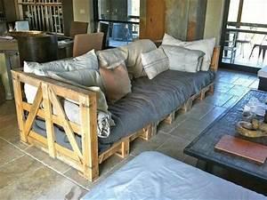 Couch Aus Europaletten : 21 diy pallet sofa plan and ideas ~ Sanjose-hotels-ca.com Haus und Dekorationen