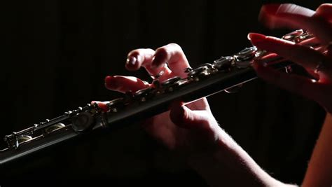hands playing flute image  stock photo public