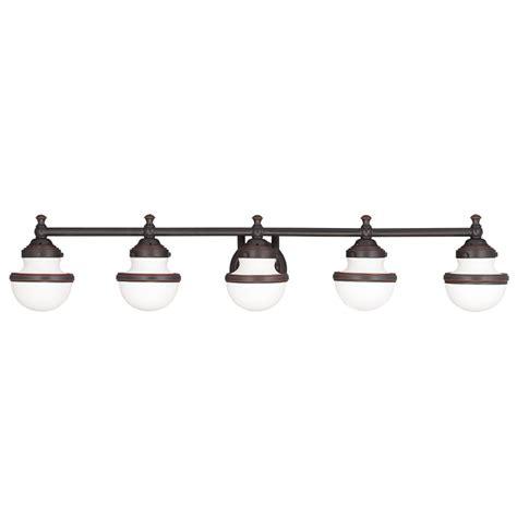 livex lighting 5715 oldwick 5 light bathroom vanity