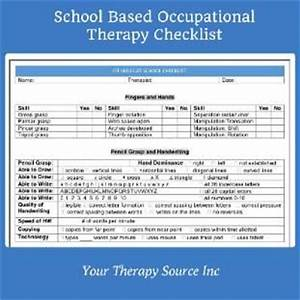school based occupational therapy checklist check out With occupational therapy documentation apps