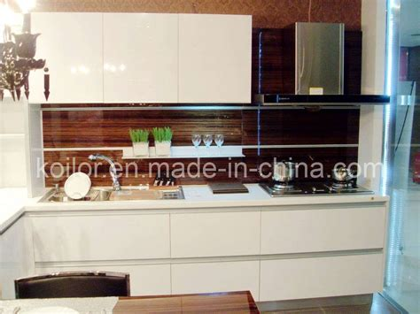 how high are kitchen cabinets china high gloss lacquer kitchen cabinet simple space