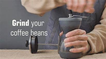 Coffee Grind Beans French Press Before Better