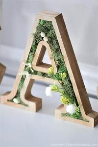 kara39s party ideas diy spring moss easter letters kara39s With moss letters michaels