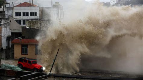 china evacuates   million  typhoon hits news al jazeera