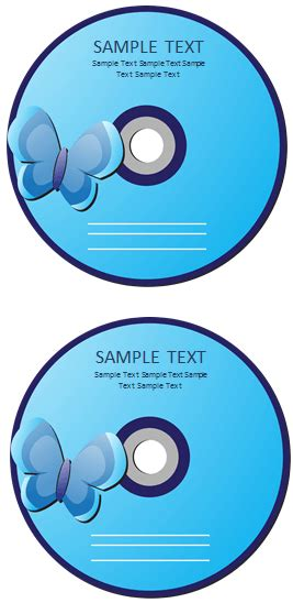 dvd label template templates  microsoft word