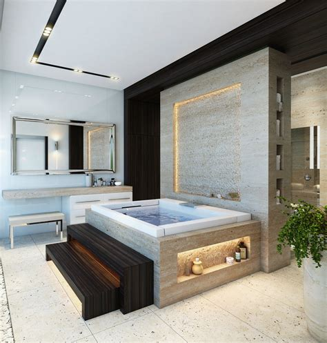 An Indepth Look At 8 Luxury Bathrooms