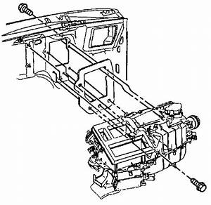 Replacing The Heater Core On A 2002 S10 Blazer  Cannot Get