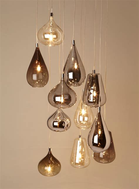 unique cluster glass pendant light fixture 50 for your
