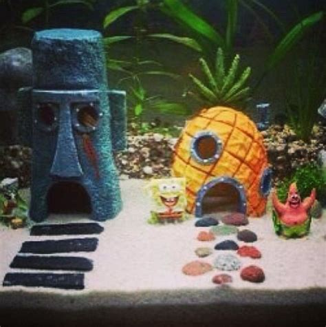 spongebob fish tank accessories spongebob fish tank fish tank spongebob