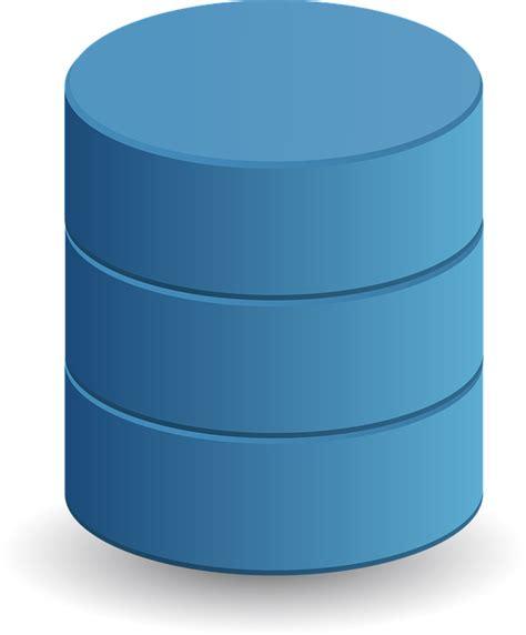 vector graphic  data storage cylinder