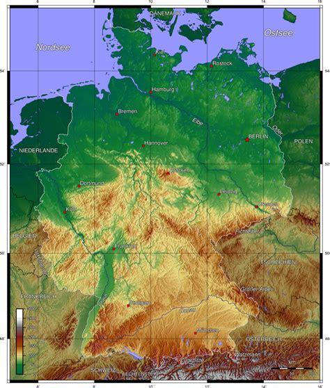 landkarte deutschland deutschlandkarte deutschland