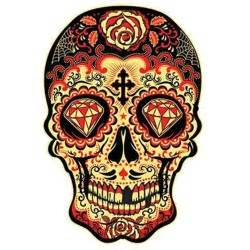Red Sugar Skull – T-Shirt