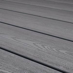 Lames De Terrasse Composite GREY Larg 146