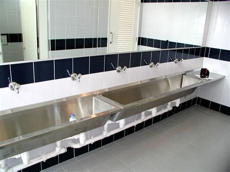 Stainless Steel Bathroom Sinks by 45 Industrial Bathroom Sink Commercial Counter Tops Gw