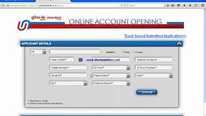 how to open online account union banks youtube With what id to open a bank account