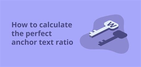 How Calculate The Perfect Anchor Text Ratio Oncrawl