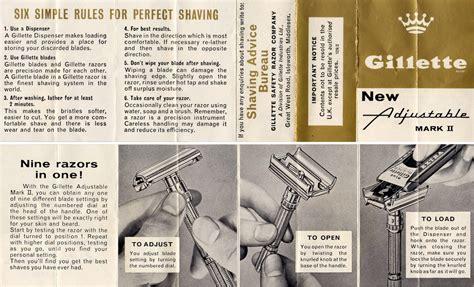 gillette slim handle adjustable razor bond lifestyle