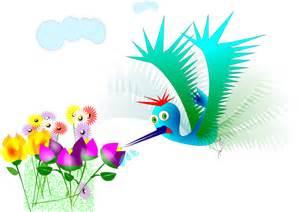 Cartoon Hummingbird Clip Art