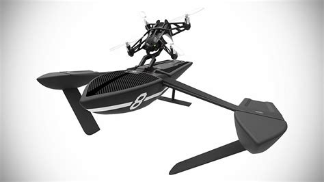 parrot unveiled   minidrones including drone powered hydrofoils mikeshouts