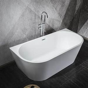 Baignoire Ilot Contre Mur : baignoire lot oslo pour une salle de bain mansard e 170 cm ~ Nature-et-papiers.com Idées de Décoration