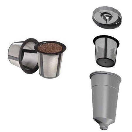 Source high quality products in hundreds of categories wholesale direct from china. New Keurig Coffee My K-cup Reusable Replacement Filter Set w/ Basket B30/31/40/50/60/70, Garden ...