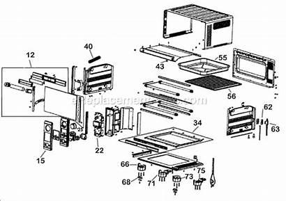 Breville Parts Oven Smart Diagram Mini Ereplacementparts